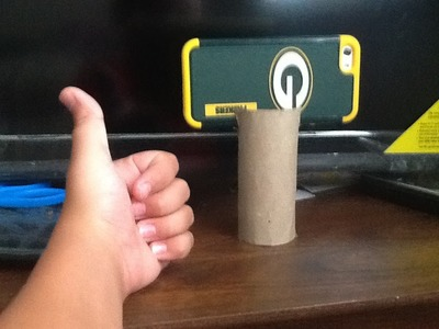 How to make your own tripod at home using toilet paper roll (DIY Under A dollar $$1)