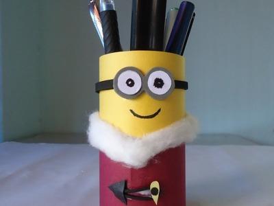 Minion Bob | Pen or Pencil Holder | DIY Back to school supplies