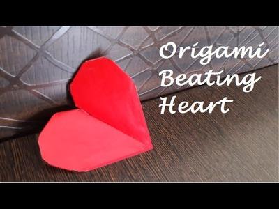 Paper Origami Heart Beating Heart Origami Heart Beating Heart