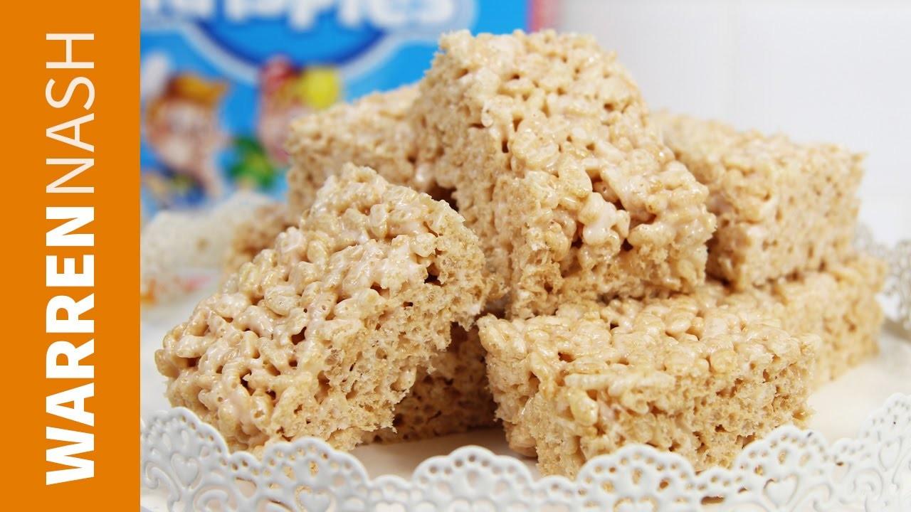 Rice Crispy Treats Recipe - DIY with Marshmallows - Recipes by Warren Nash
