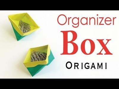 Table and Desk Organizer Box Case ✨Origami Paper DIY✨ - Origami Kawaii〔#164〕