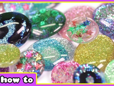 Use Your Nail Polish To Create These Beautiful Precious Stones - DIY Home Decor by HooplaKidz How To