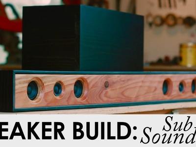 2.1 Soundbar System With Sub | DIY Speaker Build