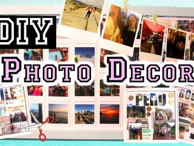 Cheap DIY ROOM DECOR to Display Your PHOTOS & MEMORIES | Mayllie