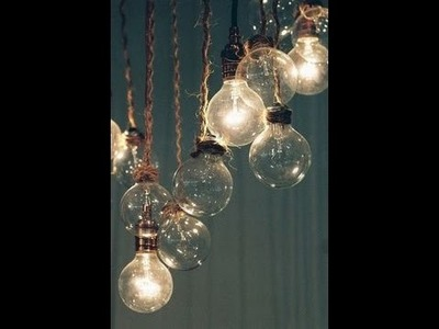Craft ideas for old light bulbs Easy Ways to Decorate Your Room