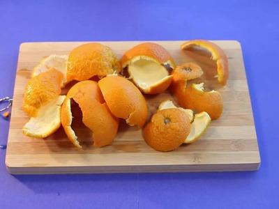 Daily DIY: Home Care- Natural Orange Vinegar Pest Repellent