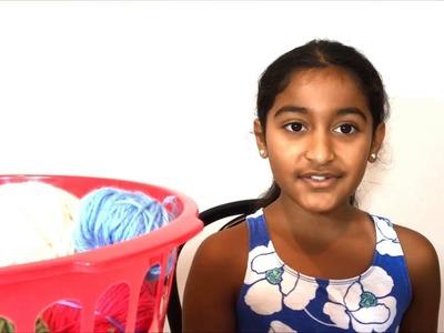 Demonstrating Single Crochet