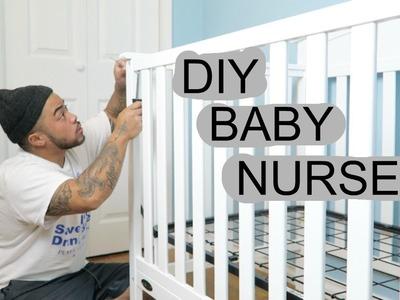 DIY BABY NURSERY PART 2