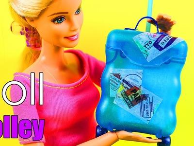 DIY Doll Trolley Bag