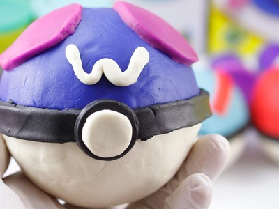 DIY PLAY-DOH POKÉMON BALL - How to Make Pokéball by Play-Doh Clay - It's very EASY - Part 3