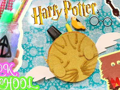 HARRY POTTER BACK TO SCHOOL DIY ITA #DIYConNancy  | Nancy Joli Bijoux