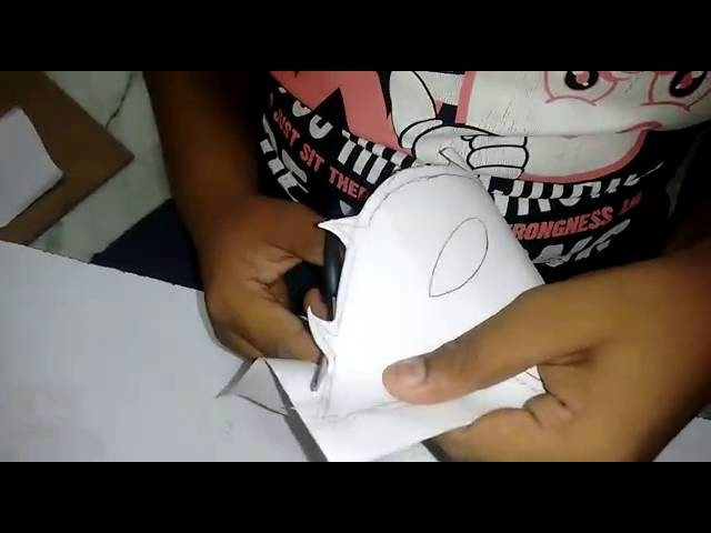 How to make a tiger mask