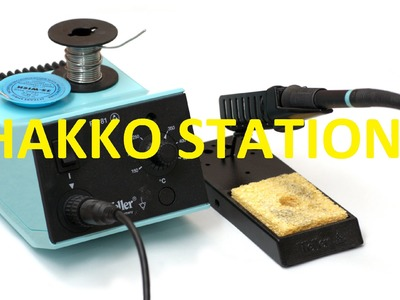 How To Make Hakko Soldering Station  - DIY products