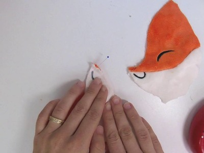 How to make plush: Pinning concave to convex pieces
