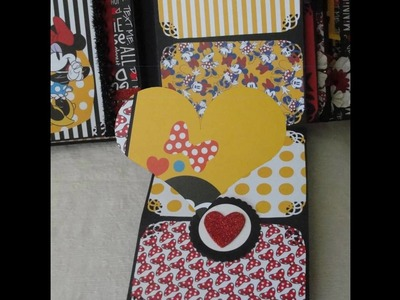 Minnie Mouse Scrapbook Album Best Image And Description About Mouse