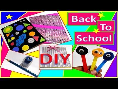 Weird Back To School Life Hacks Supplies! | EASY DIY Crafts Sharpener Cases | Giveaway.