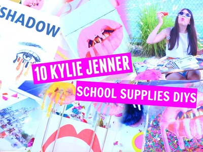 10 DIY KYLIE COSMETICS LIP KIT INSPIRED SCHOOL SUPPLIES. BACK TO SCHOOL KYLIE JENNER INSPIRED DIYS