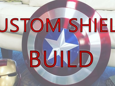 Captain America Custom Shield DIY