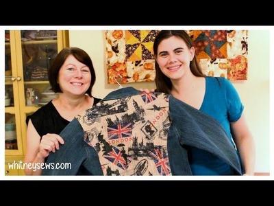 Denim Jacket Refashion: DIY Inspiration- Whitney Sews