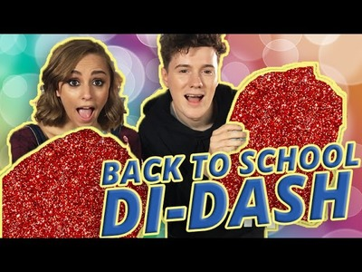 DIY BACK TO SCHOOL BACKPACK CHALLENGE! w. Hannah Witton & Sam King