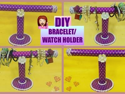 DIY Bracelet. Watch Holder | Best Out Of Waste | Crafty Zilla|