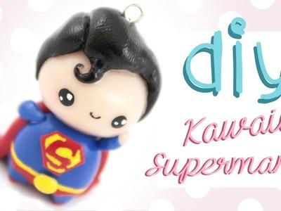 ♡ DIY Chibi Superman in Polymer Clay! ♡ | Kawaii Friday