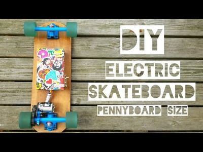 DIY ELECTRIC SKATEBOARD. For Students. Tutorial
