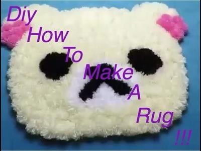 DIY:How To Make A Rug!