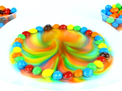 DIY How to Make Colors Rainbow M&M Candies with Water Toy Channel Kids Video