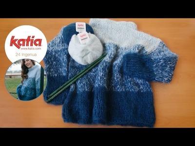 DIY Ingenua: Jersey efecto degradado · Ombré pullover