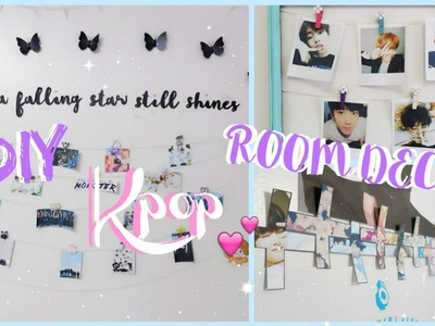 DIY Kpop Room Decor ♡ BTS & EXO Edition