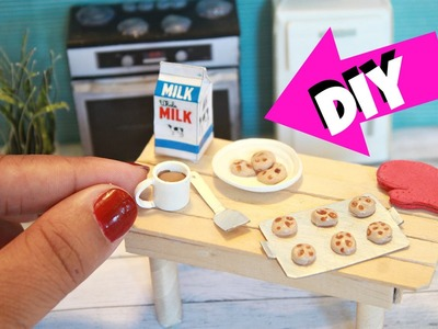 DIY Miniature Cookies made with hot glue