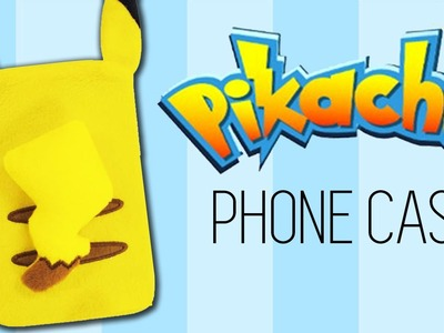 DIY Pokemon GO Phone Case| How to make Pikachu Phone Case [NO SEW]