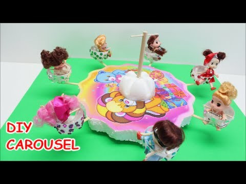 DIY School Projects For Teens How To Plastic Bottle Carousel