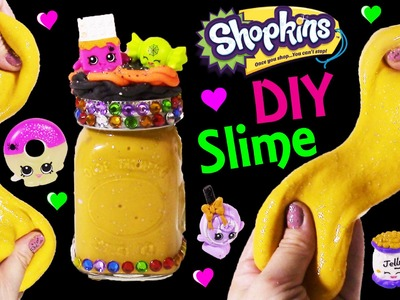 DIY SHOPKINS Halloween PUMPKIN SLIME! Mix & Make Your Own Stretchy Gooey GLitter Putty! Twozies!