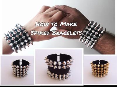 DIY Spiked Bracelets by KITanic for Burning Man, LIB, Carnava, EDC, coachella festival