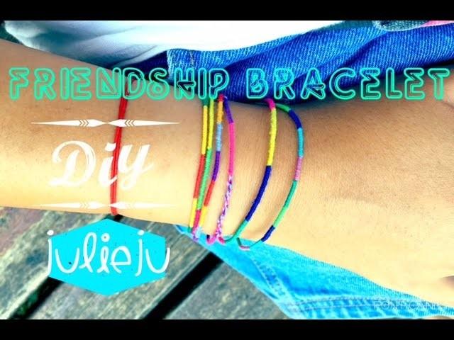 DIY | Tutorial | Friendship Bracelet - 5 minutes easy!