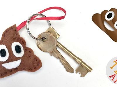Easy Poop Emoji DIY - Sewing Projects - Back to School