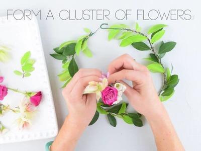 Flower Moxie DIY Flower Crown  ~SUPER FAST TUTORIAL~