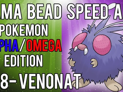 Hama Bead Speed Art | Pokemon | Alpha.Omega | Timelapse | 048 - Venonat