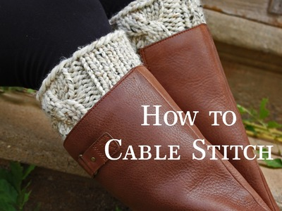 How to Cable Knit : C6F