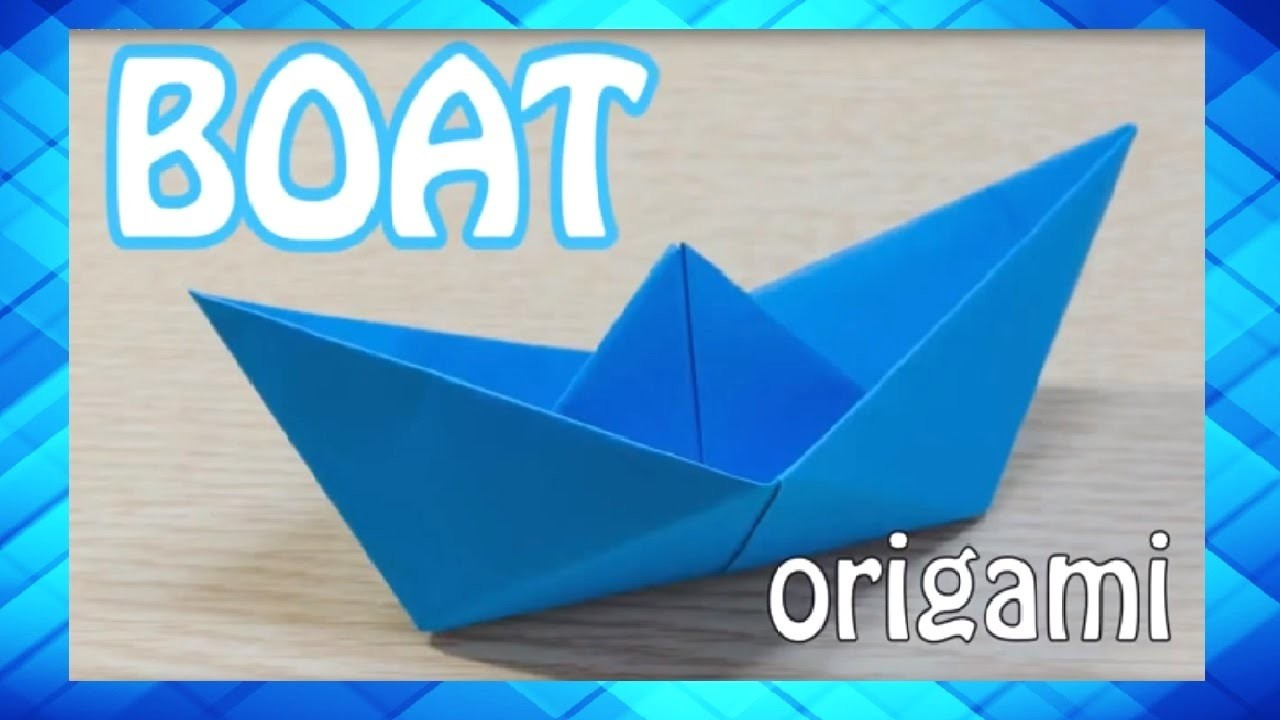 How To Make A Origami Paper Boat Easy Step By Step Instructions