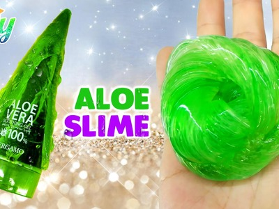 How to make Aloe Slime DIY