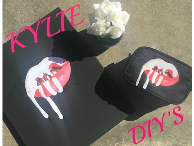 KYLIE DIY'S Under $10 |Home Decor, Makeup Bag