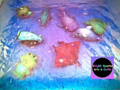 Ocean Sensory Bag * Toddlers * DIY * Arts Crafts Fun