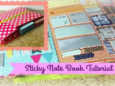 Planner DIY!!  Sticky Note Book Tutorial