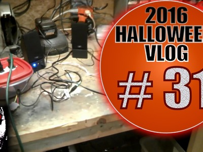 $20 Arduino Prop Controller Part 5 - DIY Halloween Vlog 2016 #31: Control Yourself!