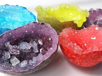DIY Crystal Egg Geode