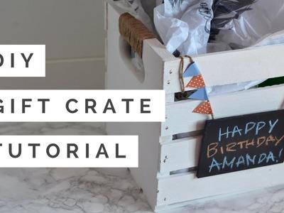 DIY Gift Pallet Crate