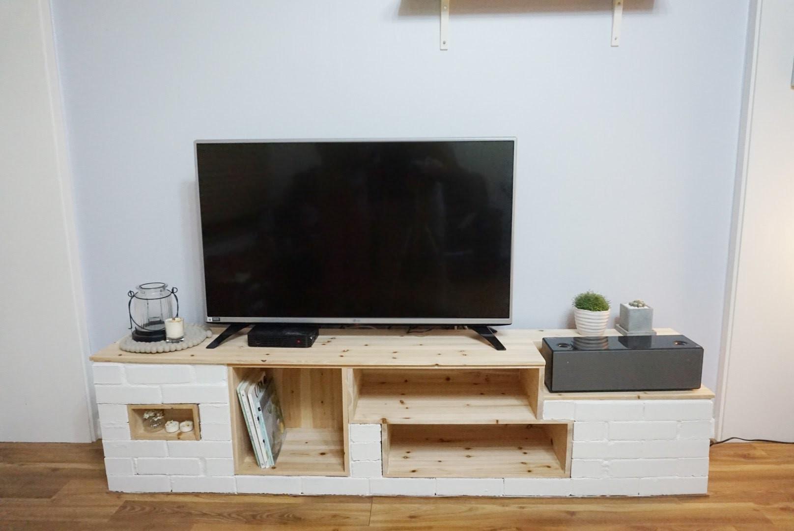 DIY*How to make an entertainment center